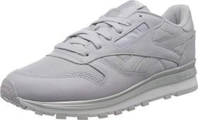Reebok Classic Leather sterling grey/silver metallic/white (Damen) (EG6323)
