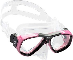 Cressi-Sub Focus double-glass mask clear/black/pink (DS241040)