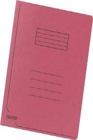 Falken Dreiflügelmappe Karton A4, rot (80001357001)