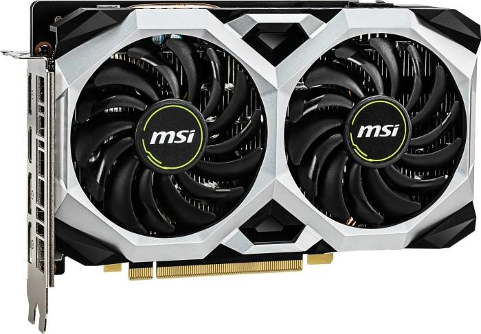 MSI GeForce GTX 1660 Ti Ventus XS 6G OC, 6GB GDDR6, HDMI, 3x DP (V375-032R)