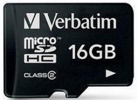 Verbatim microSDHC 16GB, Class 2 (44006)