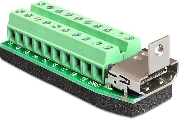 DeLOCK HDMI auf 20-Pin-Terminalblock Adapter (65168)