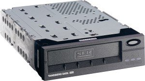 Tandberg SLR75 schwarz bulk, 38/75GB, SCSI (6850)