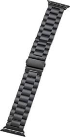 Peter Jäckel Watch Band Stainless für Apple Watch (38mm/40mm) schwarz (17295)