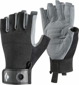 Black Diamond Crag Kurzfinger Klettersteig-Handschuhe schwarz (BD801859BLAK)