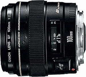 Canon EF 100mm 2.0 USM schwarz (2518A004/2518A012)