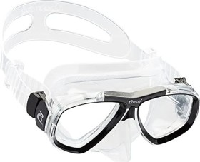 Cressi-Sub Focus double-glass mask clear/black/clear (DS241060)
