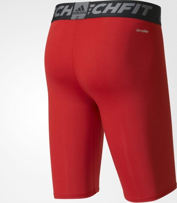 adidas Techfit Base Tight Hose kurz rot (Herren) (AJ5040)