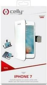 Celly Wally für Apple iPhone 7/8 weiß (WALLY800WH)