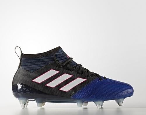 8cd489ba5723 adidas Ace 17.1 Primeknit SG core black/footwear white/blue (men ...