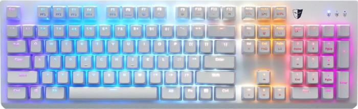 Tesoro Gram Spectrum SE white, Tesoro Optical RED, USB, DE (TS-G11UXL-WH)