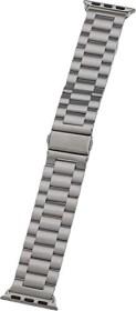 Peter Jäckel Watch Band Stainless für Apple Watch (38mm/40mm) silber (17296)