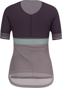 Odlo Zeroweight Trikot kurzarm plum perfect/quail/surf spray (Damen) (411611-30542)