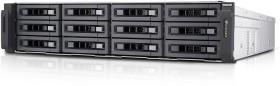 QNAP Turbo Station TS-EC1280U-RP 12TB, 4x Gb LAN, 2HE