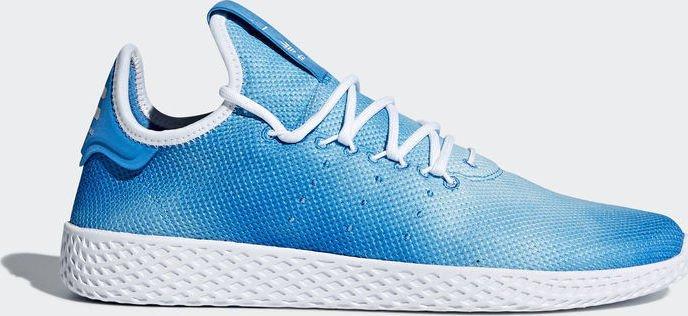 f0483e4f441f adidas Pharrell Williams tennis HU bright blue white (DA9618 ...