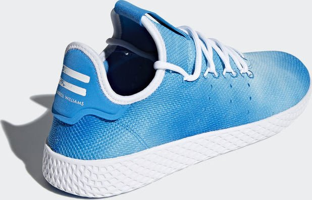 8de663f29ce86 adidas Pharrell Williams tennis HU bright blue white (DA9618) starting from  £ 59.92 (2019)