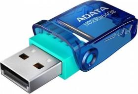 ADATA FlashDrive UD230 64GB blau, USB-A 2.0 (AUD230-64G-RBL)