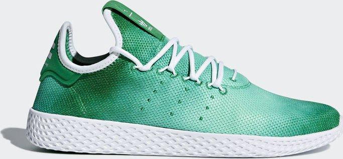 1b65f841db76c adidas Pharrell Williams tennis HU green white (DA9619) starting ...