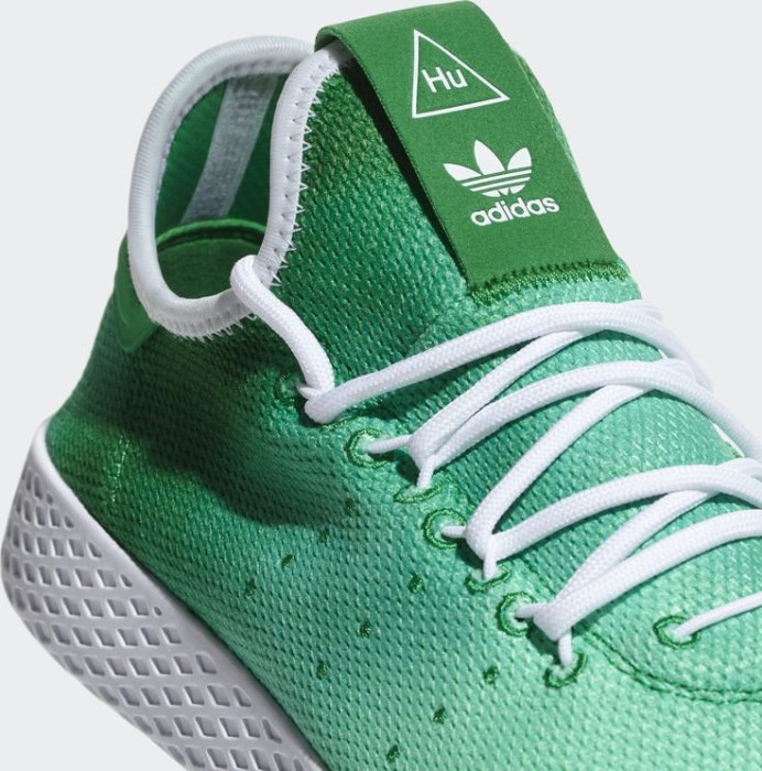 a3f9768473694 adidas Pharrell Williams tennis HU green white (DA9619) starting from £  60.00 (2019)