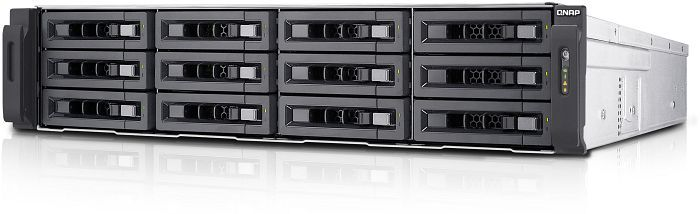 QNAP Turbo Station TS-EC1280U-RP 36TB, 4x Gb LAN, 2HE