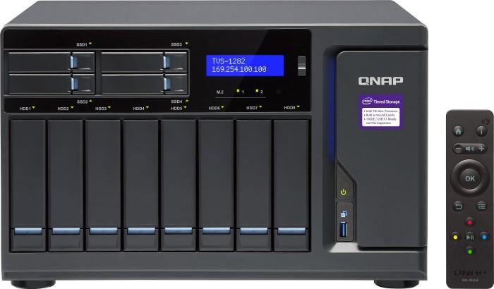 QNAP TVS-1282-I3-8G, 8GB RAM, 4x Gb LAN