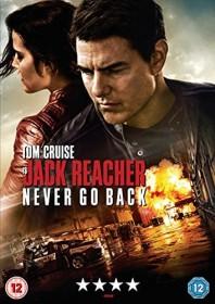 Jack Reacher: Never Go Back (DVD) (UK)