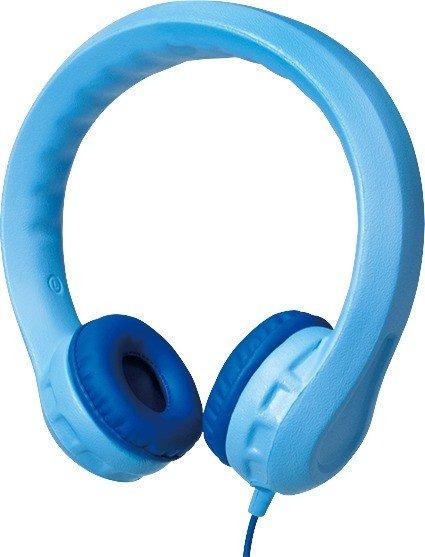 LogiLink padded, Kindersicherer Headphones blue (HS0045)