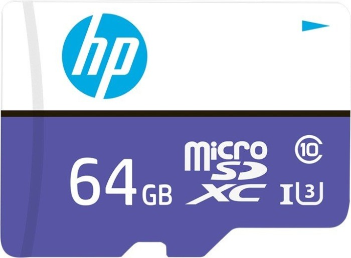 PNY HP mx330 R100 microSDXC 64GB Kit, UHS-I U3, Class 10 (HFUD064-1U3PA)