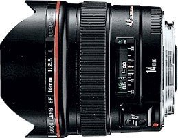 Canon EF 14mm 2.8 L USM black (2508A003/2508A016)