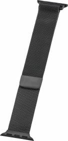 Peter Jäckel Watch Band Milanaise für Apple Watch (40mm/38mm) schwarz (17298)
