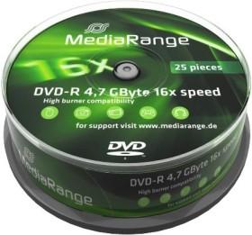 MediaRange DVD-R 4.7GB 16x, 25er Spindel (MR403)