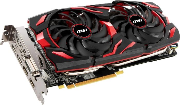 MSI Radeon RX 580 Mech 2 8G OC, 8GB GDDR5, DVI, 2x HDMI, 2x DP