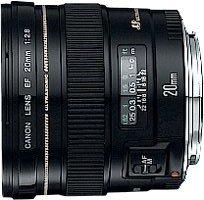 Canon EF 20mm 2.8 USM schwarz (2509A004/2509A010)