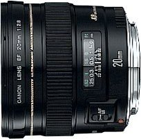 Canon EF 20mm 2.8 USM black (2509A004/2509A010)