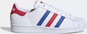 adidas Superstar cloud white/blue/team colleg red (FV2806)
