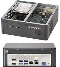 Supermicro CSE-101i, Mini-ITX