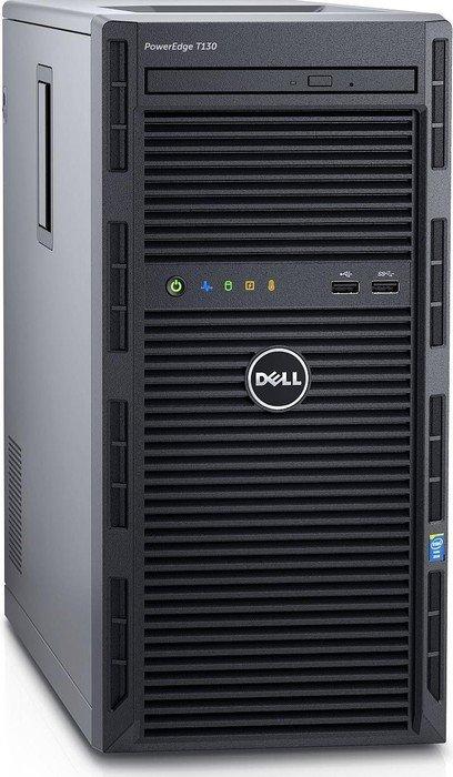 Dell PowerEdge T130, Xeon E3-1220 v6, 4GB RAM, 1TB HDD, Windows Server 2016 Standard (T130-2837/634-BIPU)