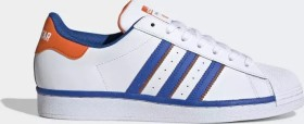 adidas Superstar cloud white/blue/orange (FV2807)