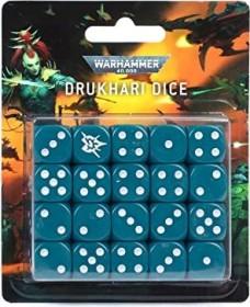 Games Workshop Warhammer 40.000 - Würfelset: Drukhari (99220112002)