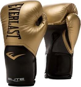 Everlast elite training boxing gloves 12oZ gold