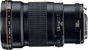 Canon EF 200mm 2.8 L II USM schwarz (2529A005/2529A015)