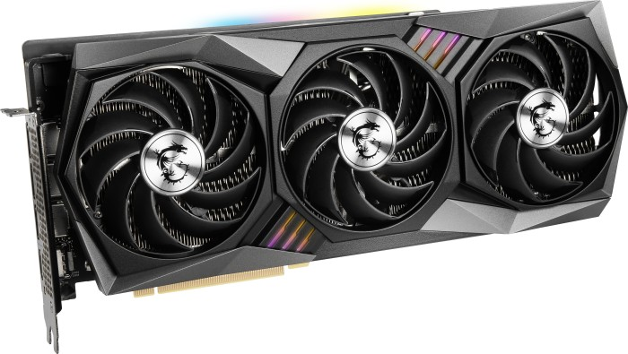 MSI GeForce RTX 3080 Gaming X Trio 10G, 10GB GDDR6X, HDMI, 3x DP