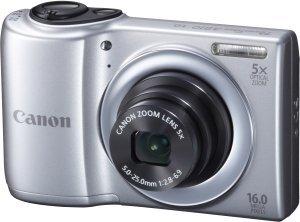 Canon PowerShot A810 srebrny (6179B011)
