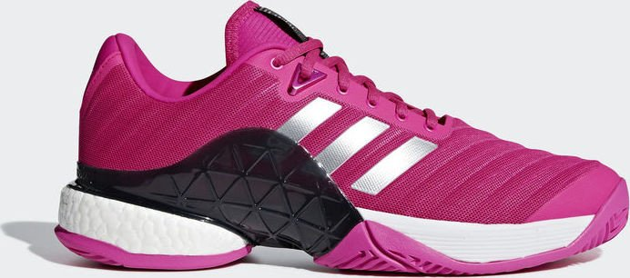 beauty new arrive online for sale adidas Barricade 2018 Boost shock pink/matte silver/legend ink (men)  (AH2093) from £ 89.55