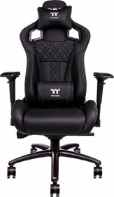 Thermaltake X Fit Real Leather Gamingstuhl, schwarz (GC-XFR-BBMFDL-01)