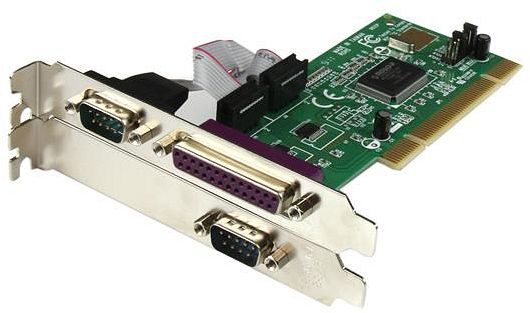 StarTech PCI2S1P, 2x serial/1x parallel, PCI