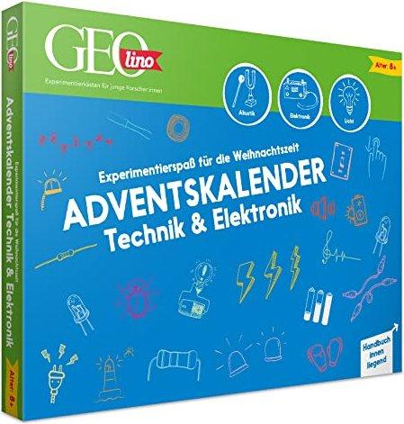 Franzis GEOlino technics & Electronics Advent Calendars 2020