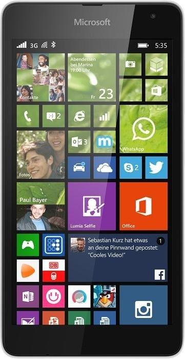 Microsoft Lumia 535 white