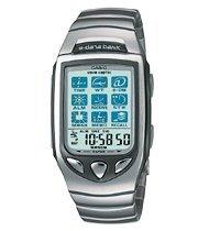 Casio e-data bank EDB-700D (radio clock)