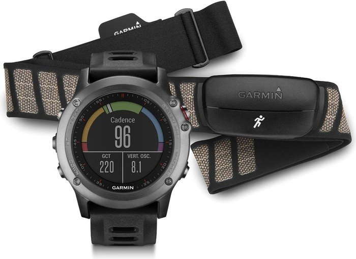 Garmin Fenix 3 HR Saphir Performer Bundle Grau günstig kaufen Sportuhr GPS & Sportuhren